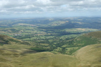 Corn Du in the Brecon Beacons National Park