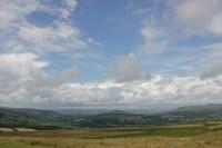 Llangynidr mountain views