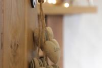 The master bedroom door ajar