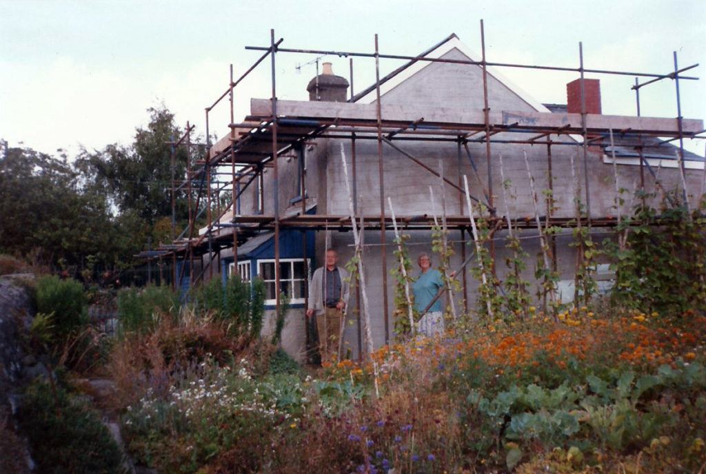 The cottage in the 1990s