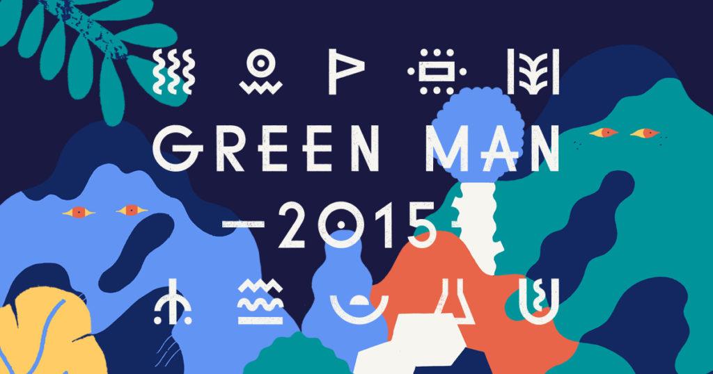 Logo for the 2015 Green Man Festival