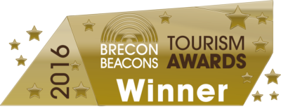 Brecon Beacons Tourism Awards Winner logo